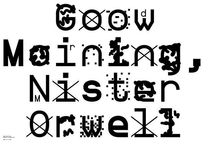 Przykład tekstu napisanego fontem ZXX