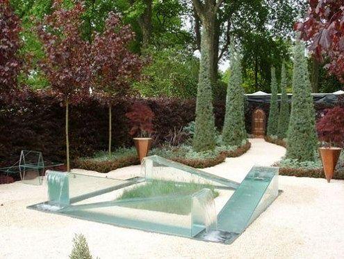 Niezwykła fontanna inspirowana iluzją optyczną