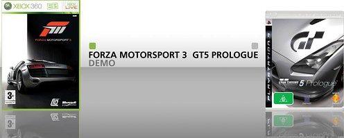 Forza vs GT