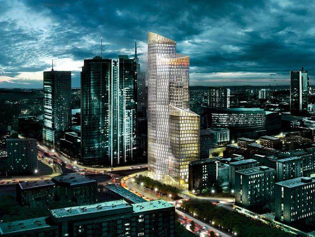 Przezroczysty Biurowiec Nową Architektoniczną Wizytówką Warszawy