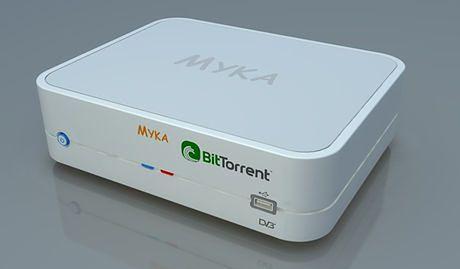 Myka z klientem BitTorrent