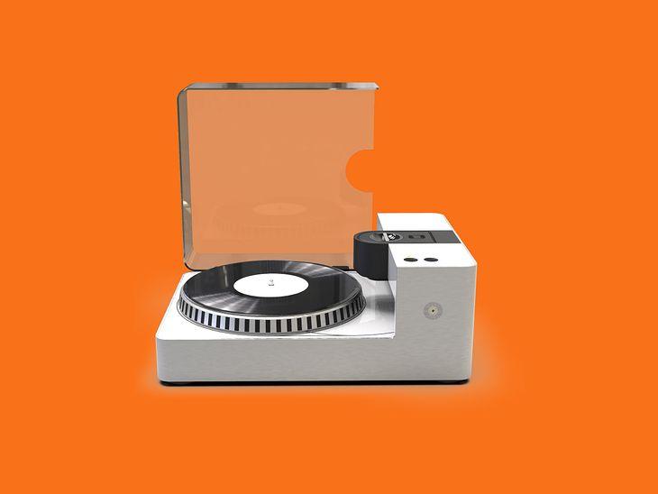 Wygląda jak zwykły gramofon, ale działa wręcz na odwrót