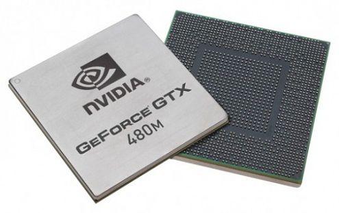 nVidia GeForce GTX480M