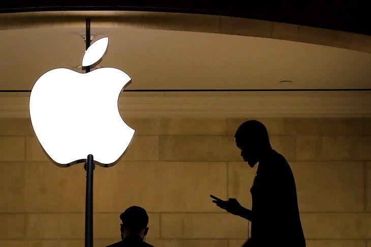 Logo Apple'a.