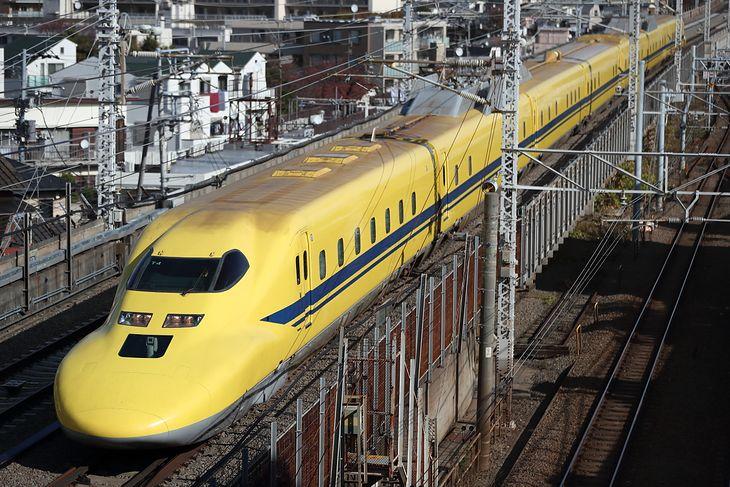 Szybka japońska kolej Shinkansen