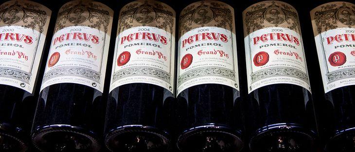 Wino Petrus 2000.