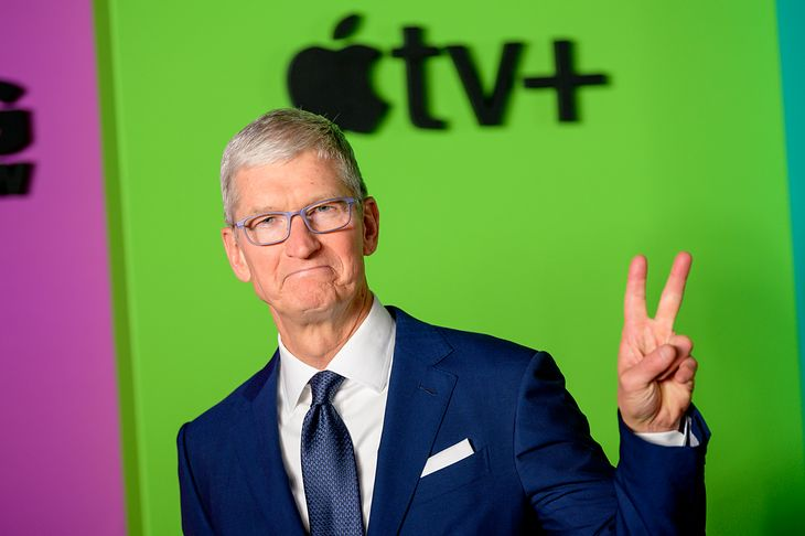 Prezes firmy Apple, Tim Cook.