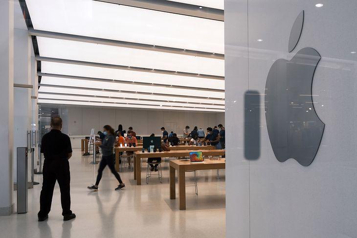 Wnętrze jednego ze sklepów Apple