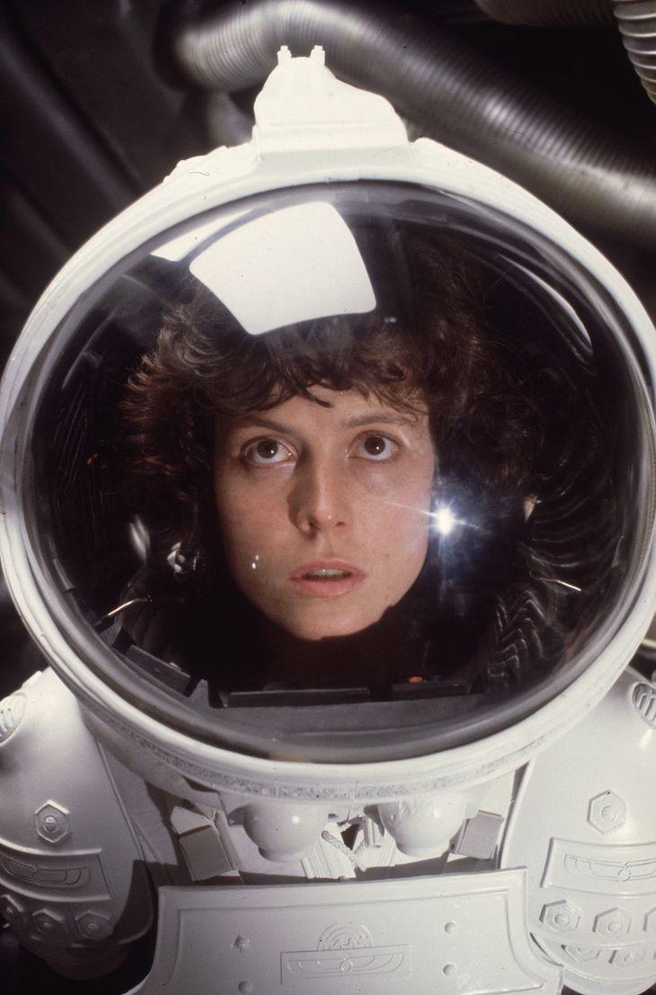 "Sigourney Weaver jako Ripley w ""Obcy: Ósmy pasażer Nostromo"""