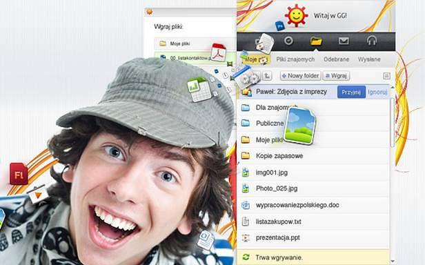 GG uruchamia dysk internetowy (Fot. GG.pl)
