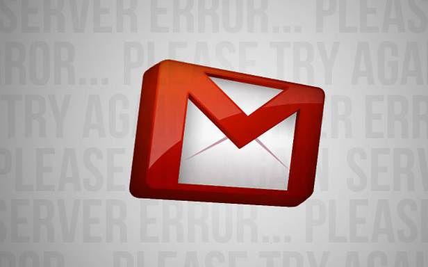 Gmail miał małe problemy (Fot. Lifehacker.com)
