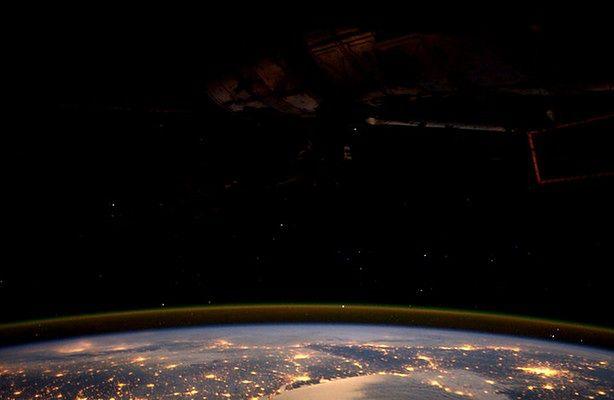 Godzina dla Ziemi widziana z kosmosu (fot.: ESA/NASA)