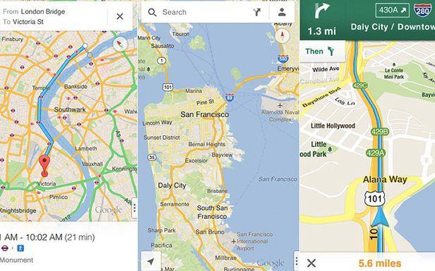 W App Store wreszcie są mapy Google