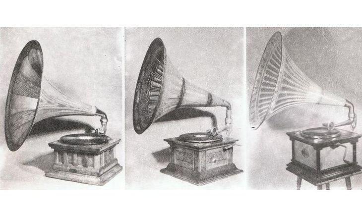 Polskie gramofony sprzed I Wojny Światowej