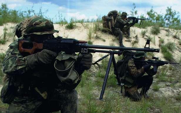 Zołnierze GROM-u (Fot. Grom.WP.Mil.pl)
