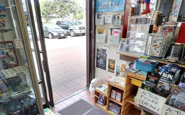 Widok z wnętrza sfotografowanego sklepu (Fot. Google.com)