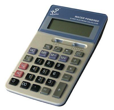 h2o kalkulator