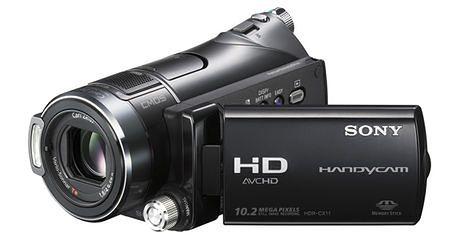 Sony HDR CX11E, kamera z wykrywaniem uśmiechu