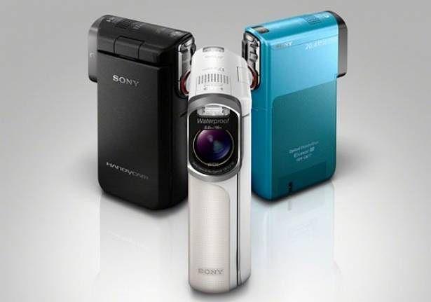 Wzmocnione, wodoodporne kamery Sony HDR-GW77V