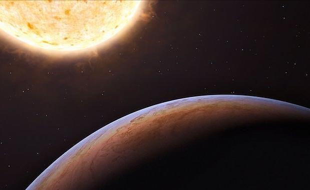 HIP 13044b - wizja artystyczna