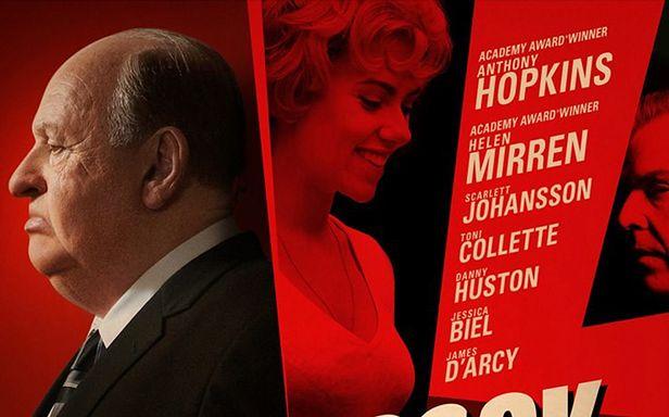 "Plakat filmu ""Hitchcock"""