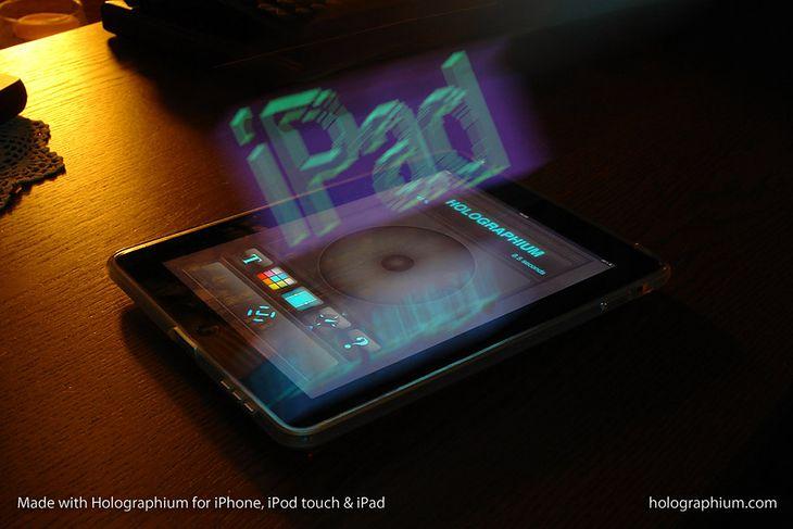 holographium iPad