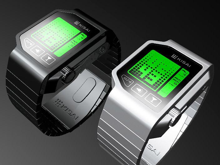 Imprezowy zegarek Kisai projektu TokyoFlash