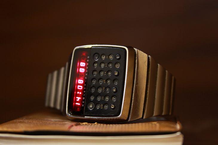HP-01 - zegarek z zaawansowanym kalkulatorem z 1977 roku