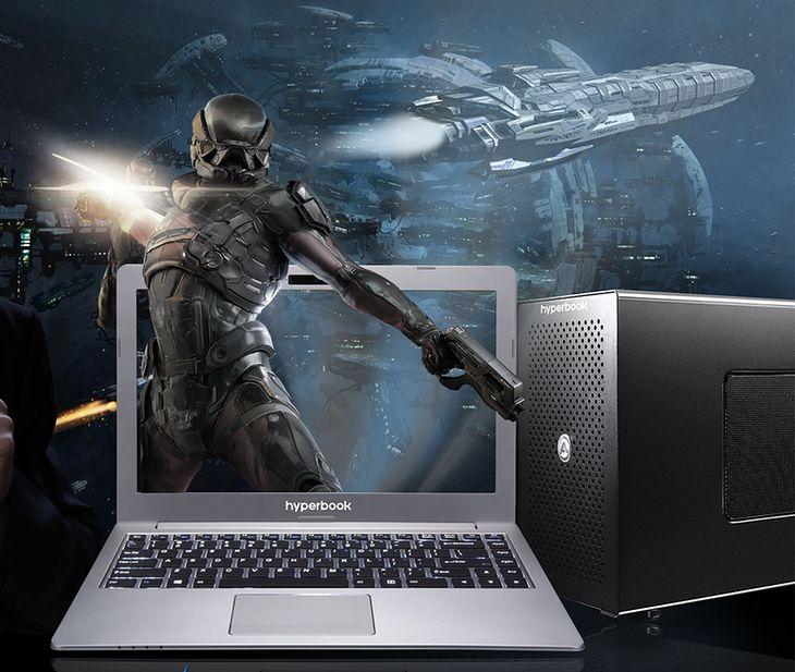 Hyperbook N13 Testujemy Polski Laptop Z Zewnetrzna Desktopowa