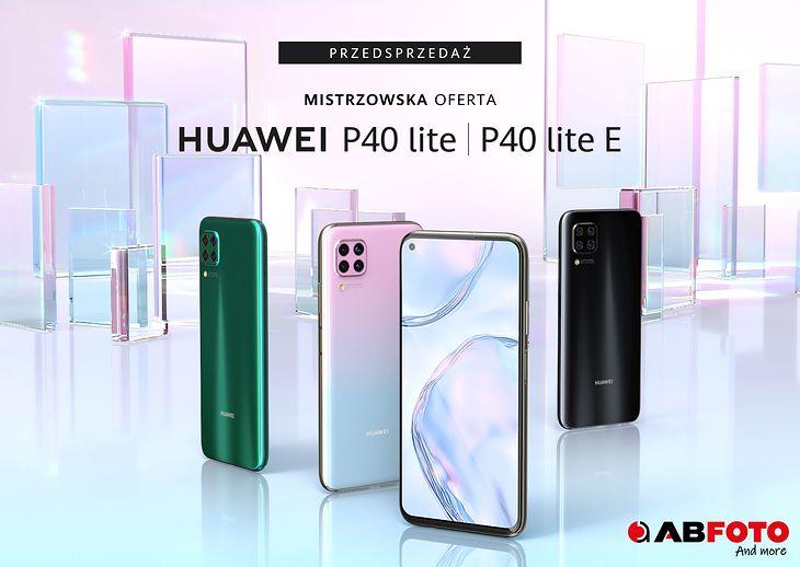 Huawei P40 lite i P40 lite E w super cenach