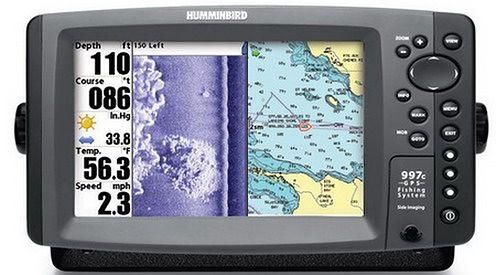 Humminbird-997c-SI-Combo-Sonar-GPS-Fishing-System