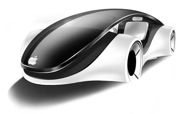 iCar - jedna z wizji samochodu Apple'a (Fot. SpotCoolStuff.com)