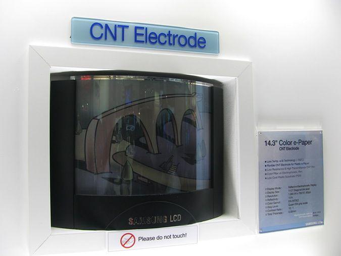 Blue-Phase i nanorurki w LCD według Samsunga