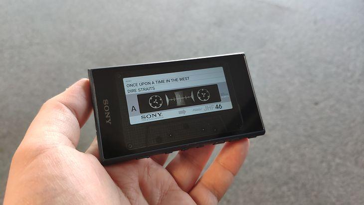 Testuję odtwarzacz MP3 Sony Walkman A100