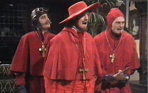 Nikt nie spodziewa się hiszpańskiej inkwizycji!