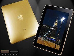 iPad ze złota