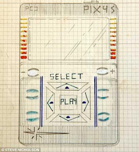 iPod z 1977 jakiego wyrysował Kane Krane