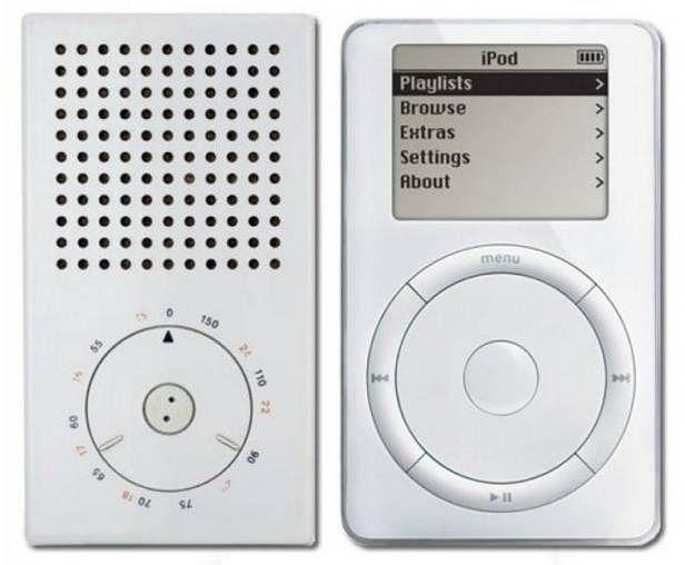 Design Brauna okazał się inspirujący. Radio T3 i iPod