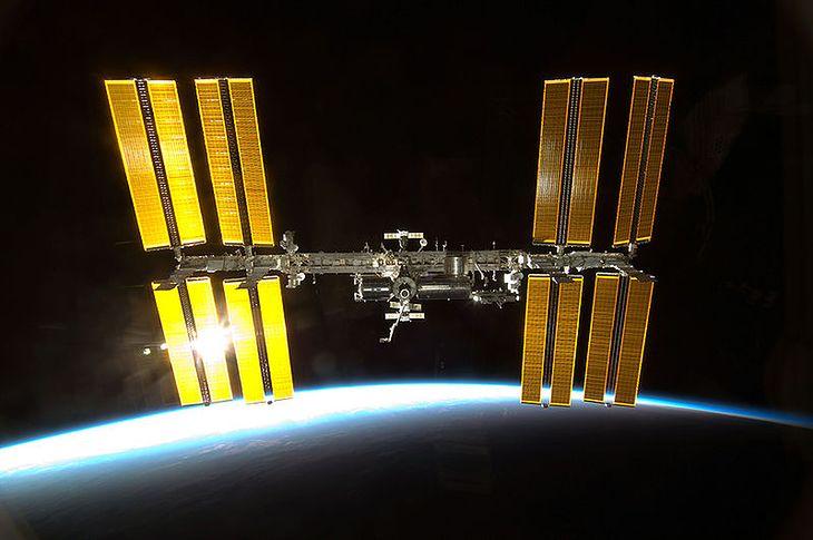 Międzynarodowa Stacja Kosmiczna (fot. NASA)