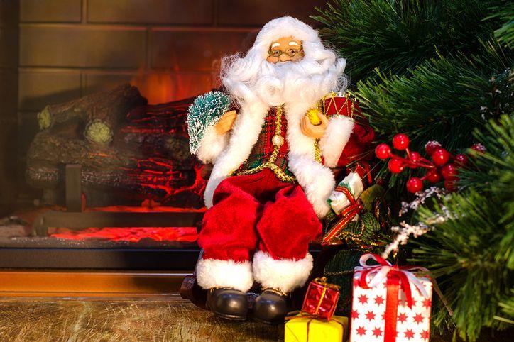 Dekoracje świąteczne Lampki świeczniki Figurki I Bombki