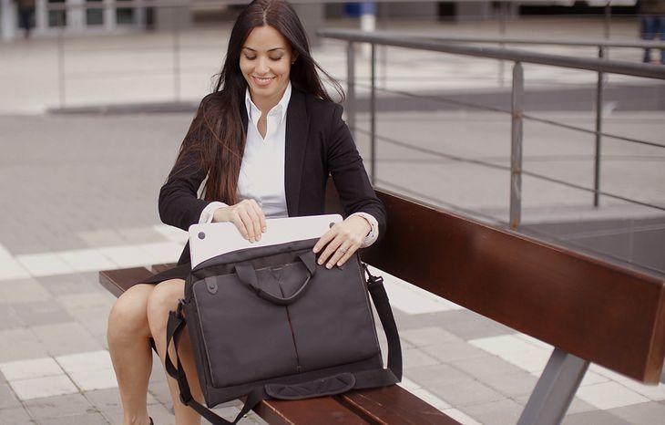 Odpowiednio wzmocniona torba sprawi, że będziecie bez obaw zabierać ze sobą swojego laptopa