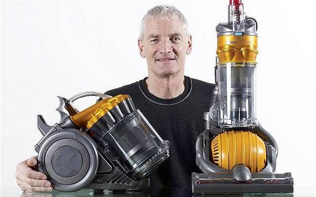 James Dyson i jego odkurzacze