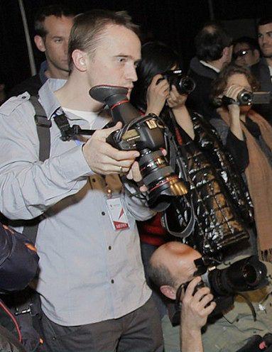 Polstat News kręci materiały Canonem 7D