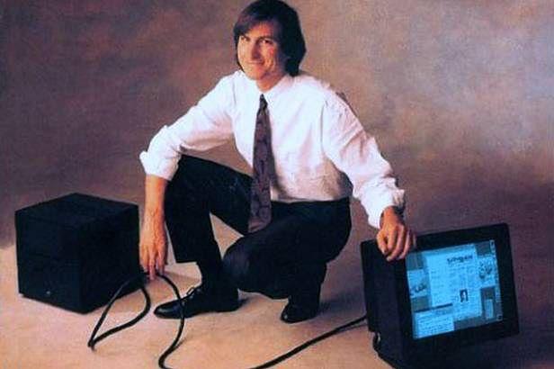 Steve Jobs i NeXTCube