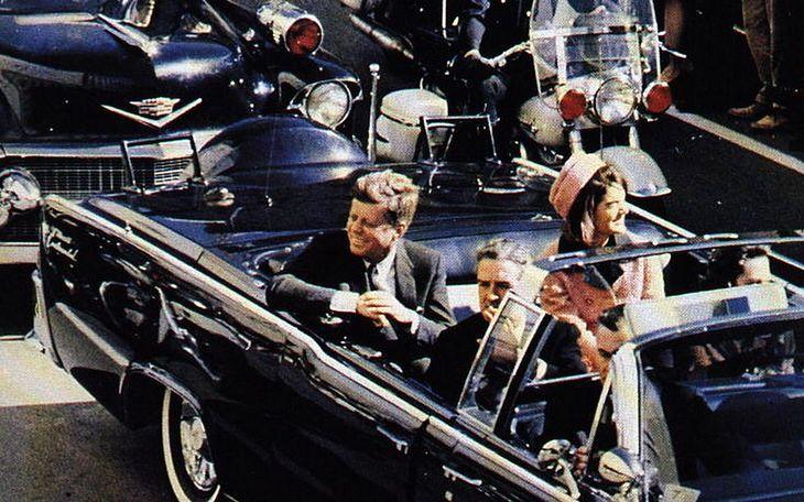John Fitzgerald Kennedy w Dallas
