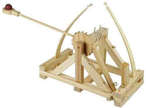da Vinci's Catapult (fot. Marbles The Brain Store)