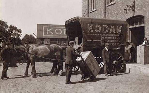 Kodak - początki firmy sięgają XIX wieku