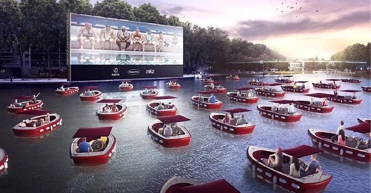 Kina na wodzie będzie główną atrakcją tegorocznej edycji Paris-Plages