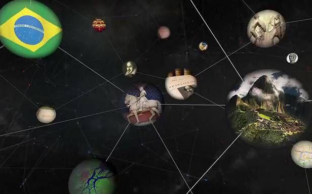 Knowledge Graph pozwala na wyszukiwanie powiązań pomiędzy danymi (Fot. YouTube.com)