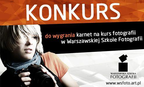 """KONKURS """"Kolory wiosny"""" - wygraj karnet na warsztaty  fotografii w WS Foto"""